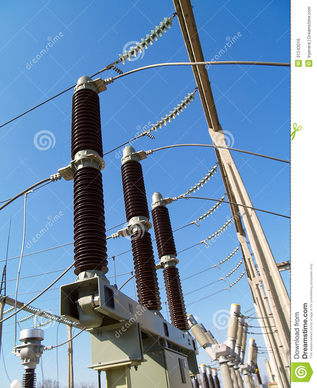 Automatic Circuit Breaker Royalty Free Stock Photos Image 18316278