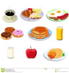 Breakfast Icon Clipart