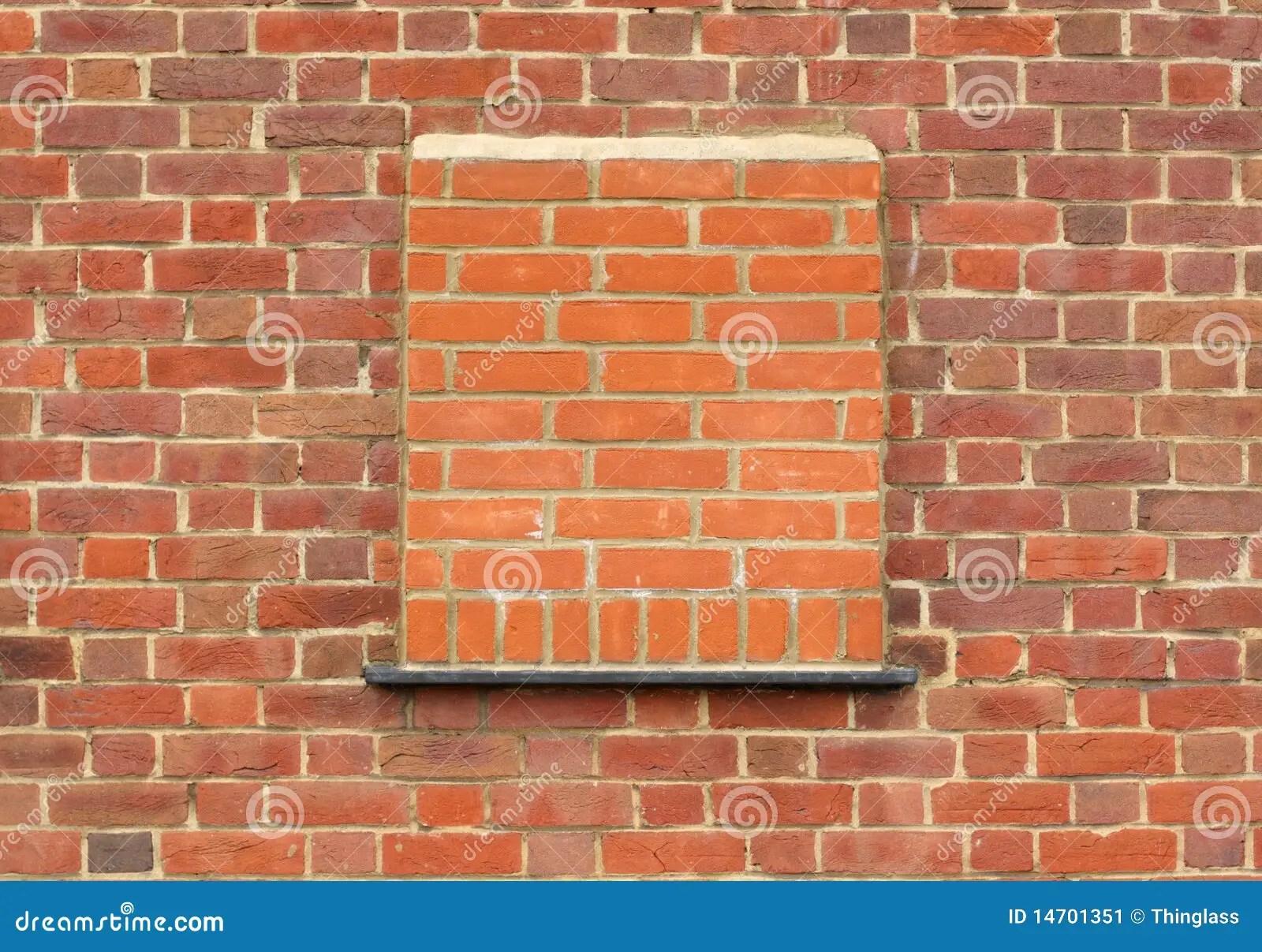 Bricked Up Window Stock Image  Image 14701351