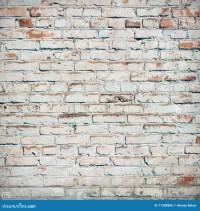 Bricks Painted White. Stock Photo - Image: 71388886