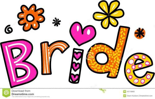 small resolution of bride clip art