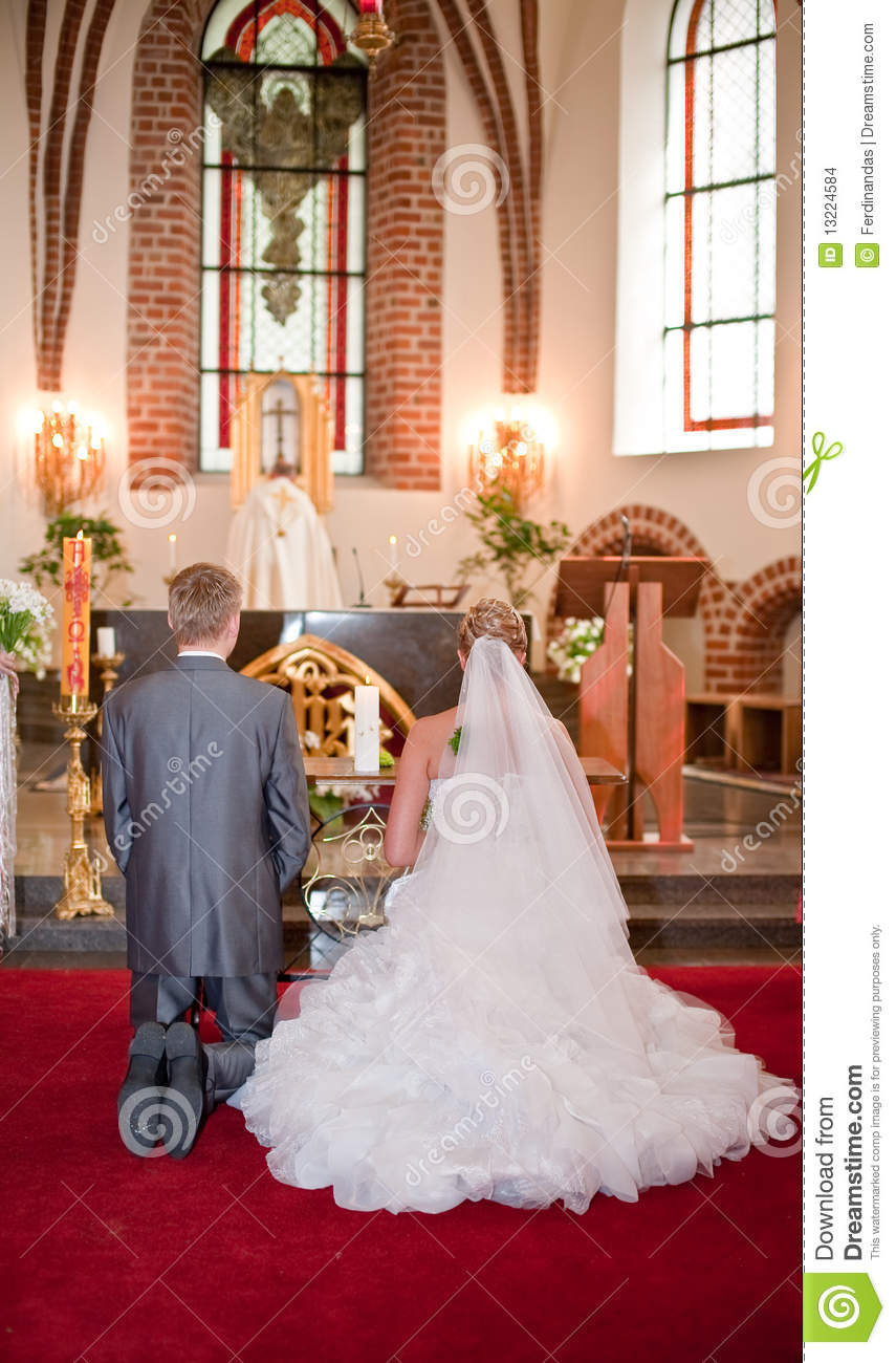 Bride And Groom On Wedding Ceremony Stock Images  Image 13224584