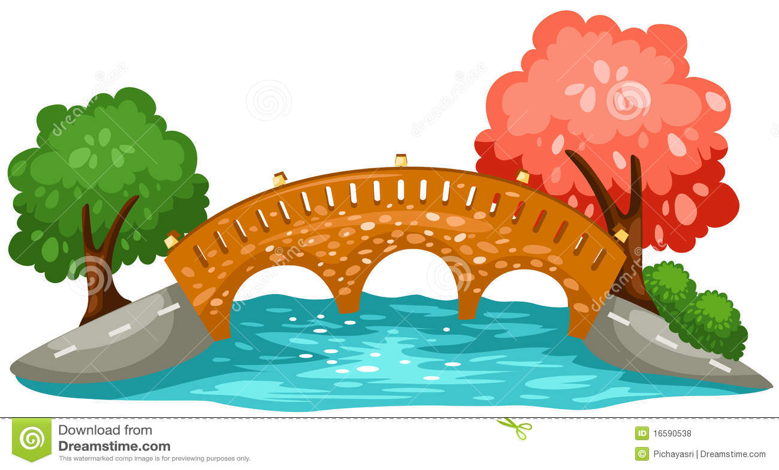 hight resolution of bridge