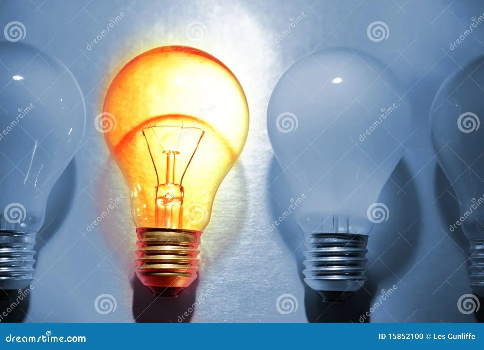 Bright Bulb Stock Photo Image Of Energy Globe
