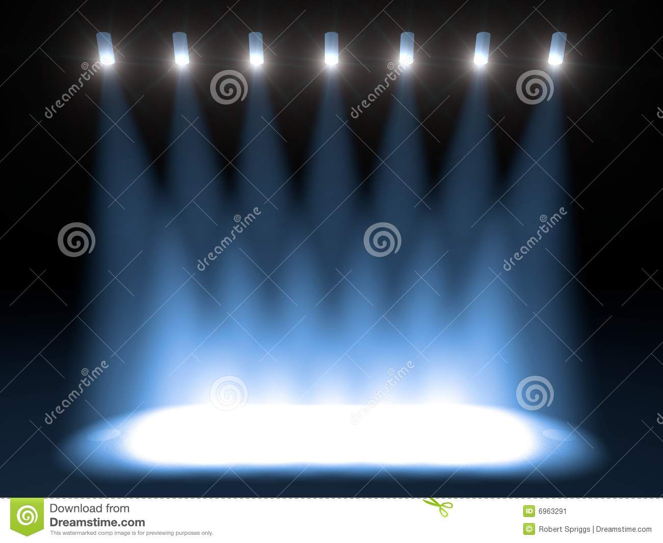 Bright Concert Stage Stock Image  Image 6963291