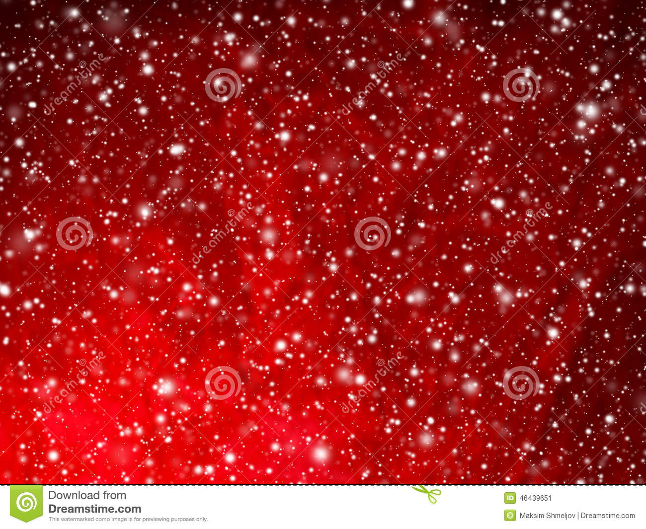 Snow Falling Video Wallpaper Bright Red Abstract Christmas Background With Falling Snow