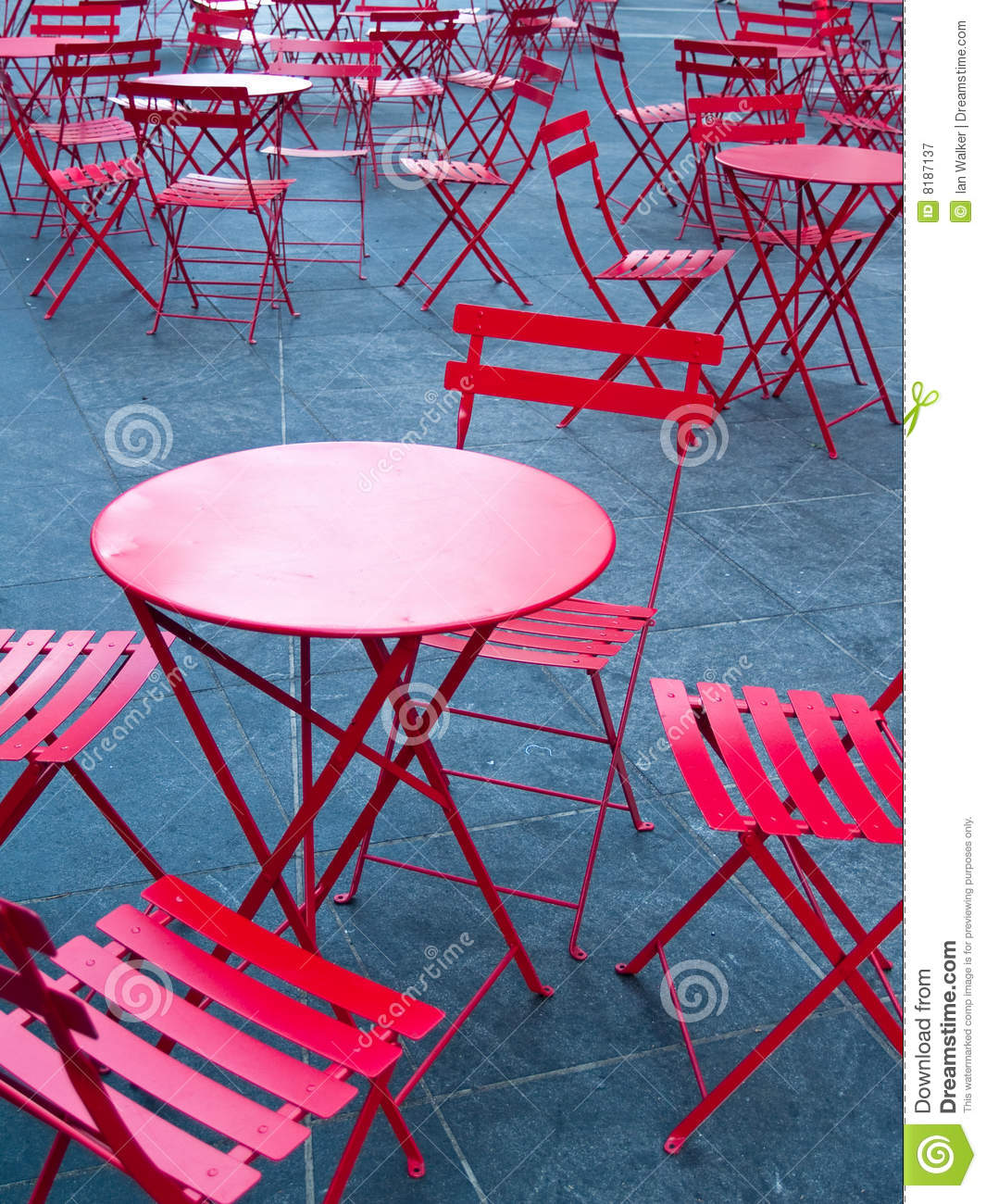 just in time tables chairs burlington baby high bright red cafe and stock image of
