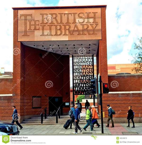 British Library London Editorial Of 1973 - 46249670