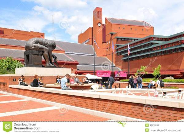 British Library Editorial Stock Of Entrance - 48812888
