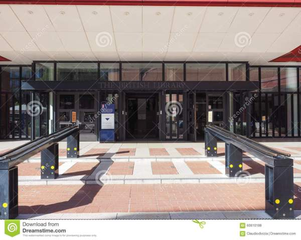 British Library In London Editorial Stock