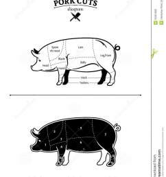 british pork cuts diagram [ 995 x 1300 Pixel ]