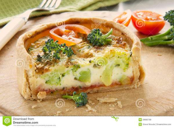 Broccoli Quiche stock photo Image of broccoli pastry