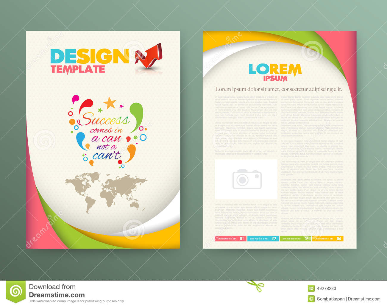 Free Brochure Layout Templates