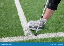 Broken Foot Crutches