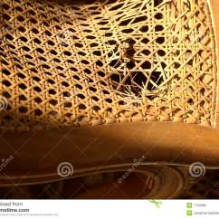 Repair Rattan Chair Seat High Chairs At Walmart Broken Wicker Royalty Free Stock Photos Image