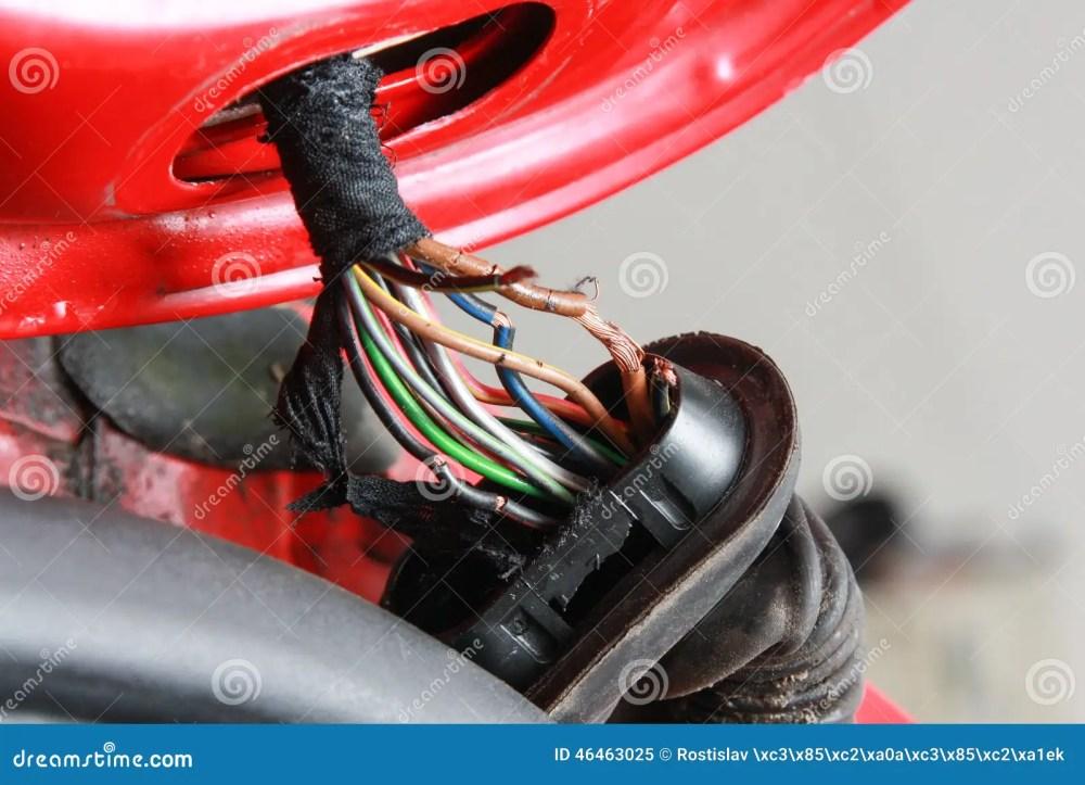 medium resolution of broken wires
