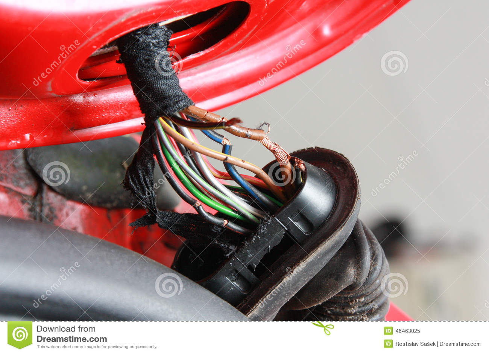 hight resolution of broken wires