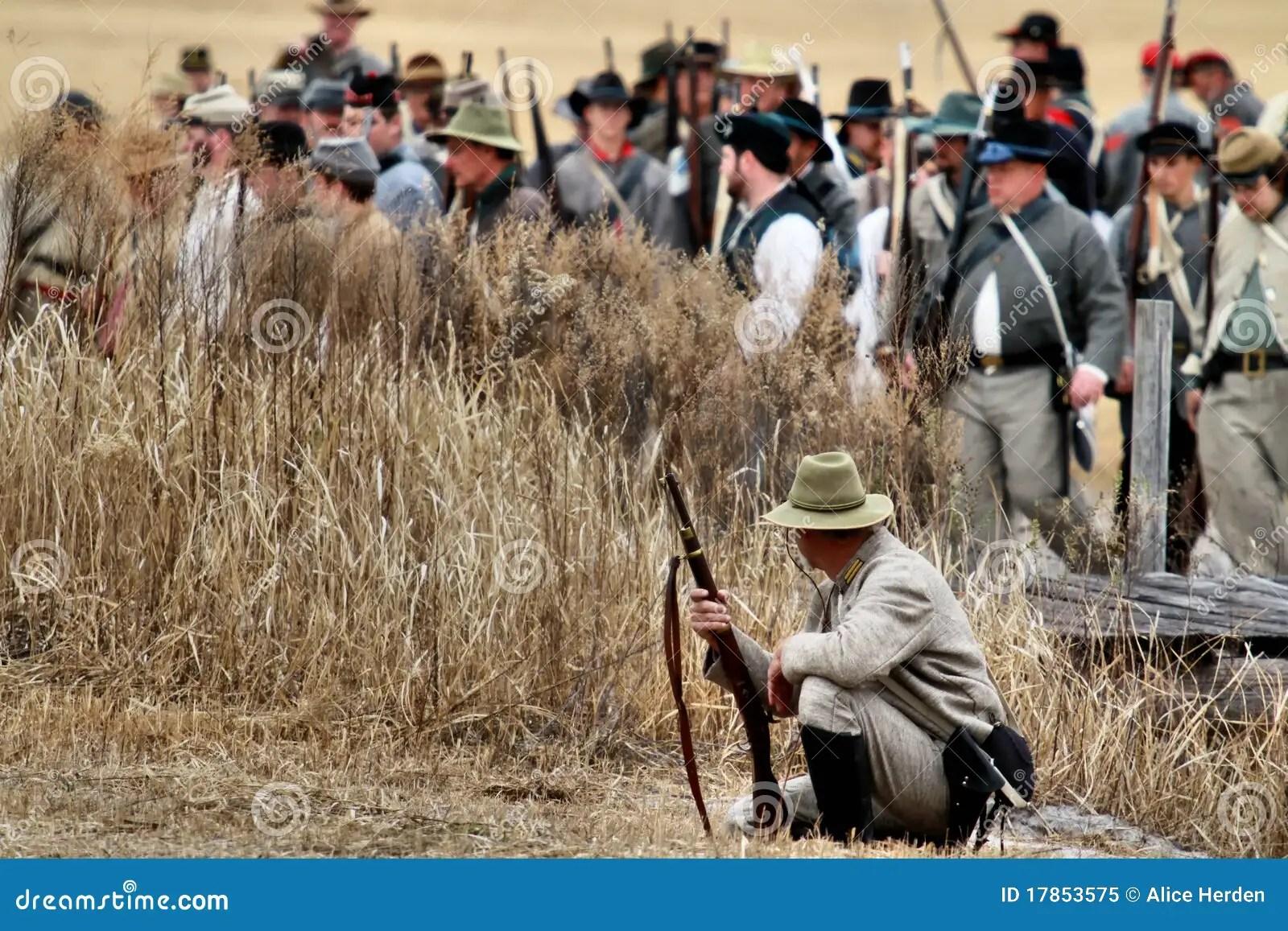 Brooksville Raid Re-enactment Editorial Image - Image of rifles. enactment: 17853575