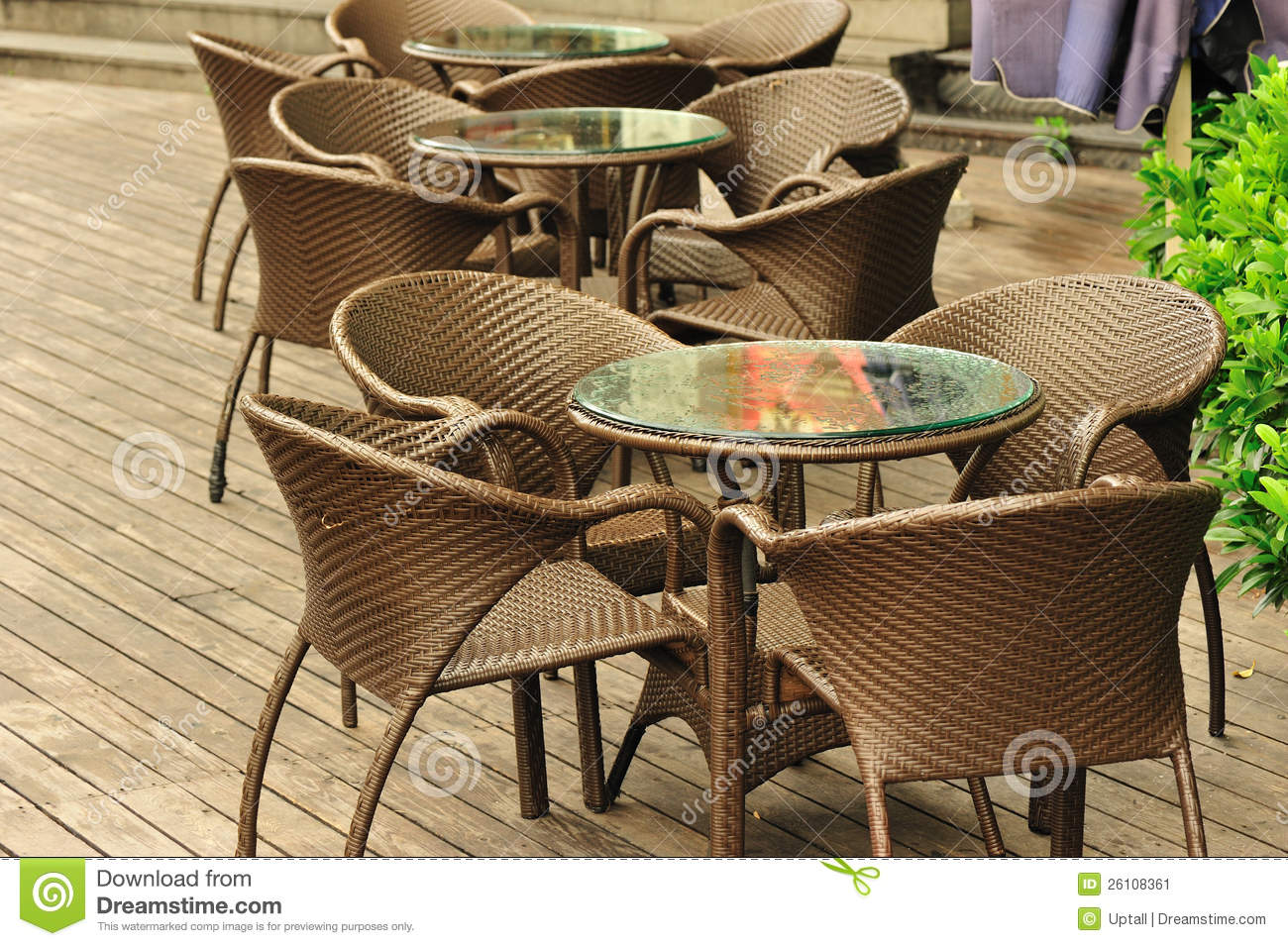 Outdoor Cafe Chairs Brown Cafe Chairs Stock Image Image Of Food City Tables