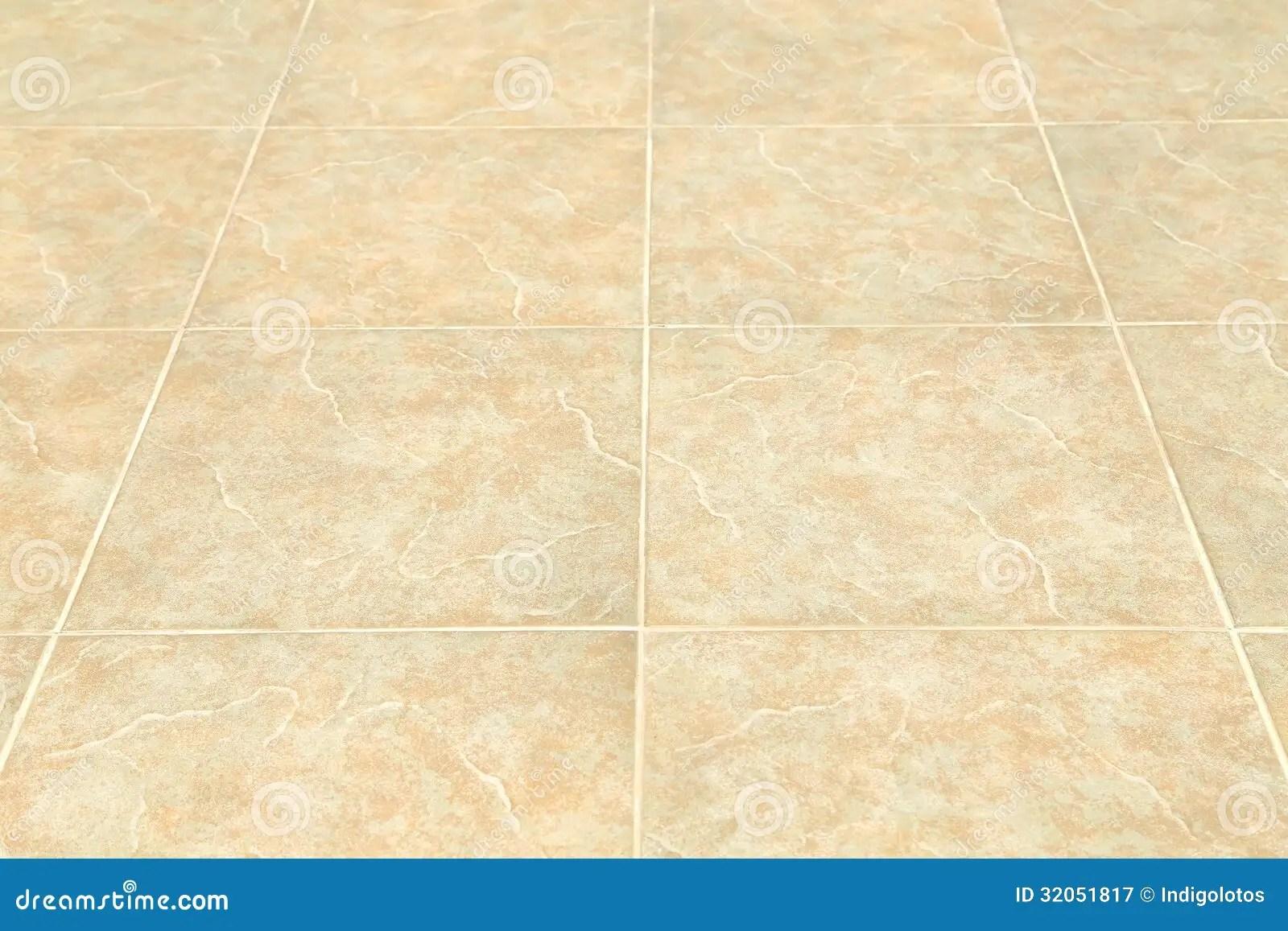 Brown Ceramic Floor Tiles Closeup Texture Royalty Free