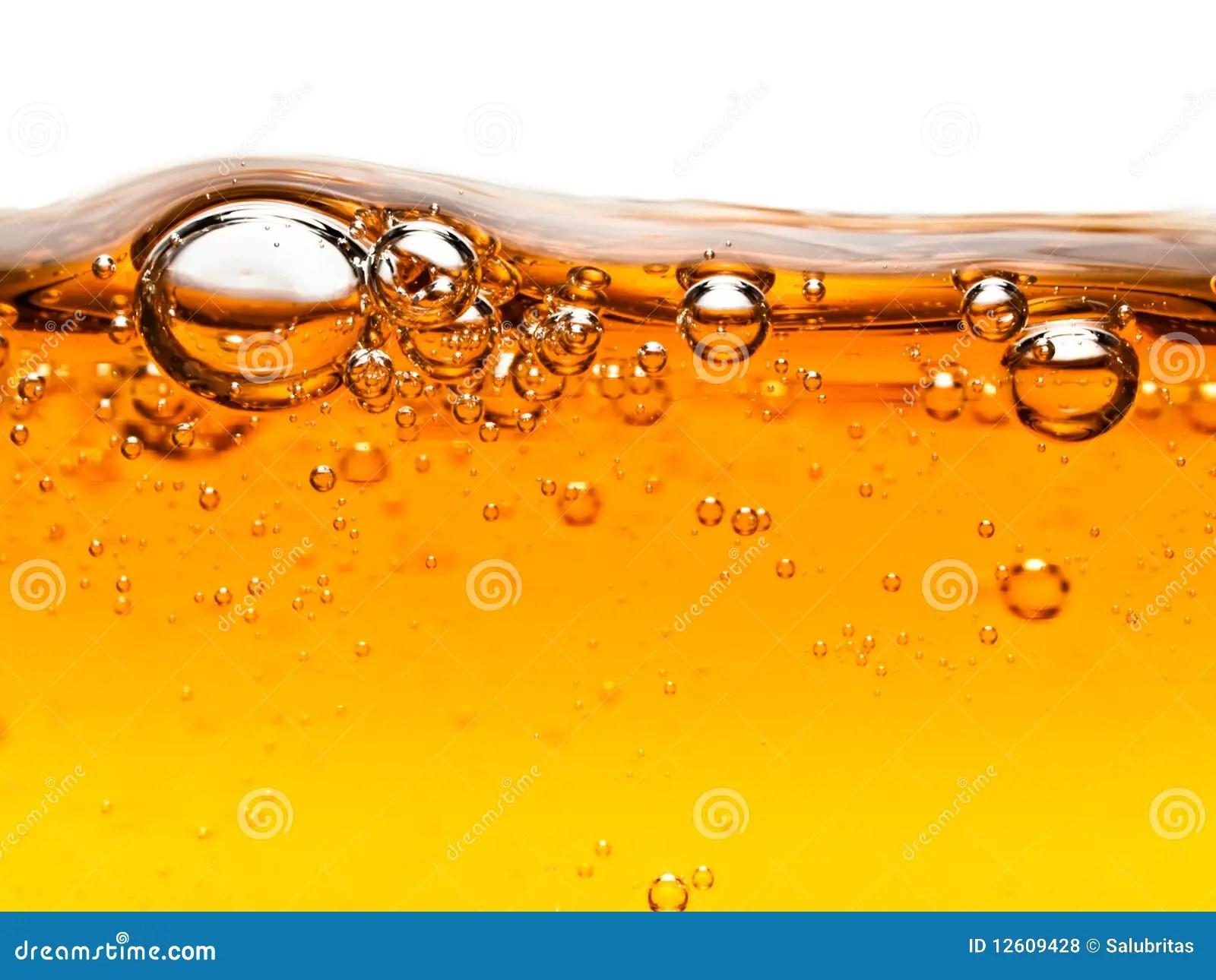 Bubbles In Orange Liquid Soap Royalty Free Stock Photos  Image 12609428