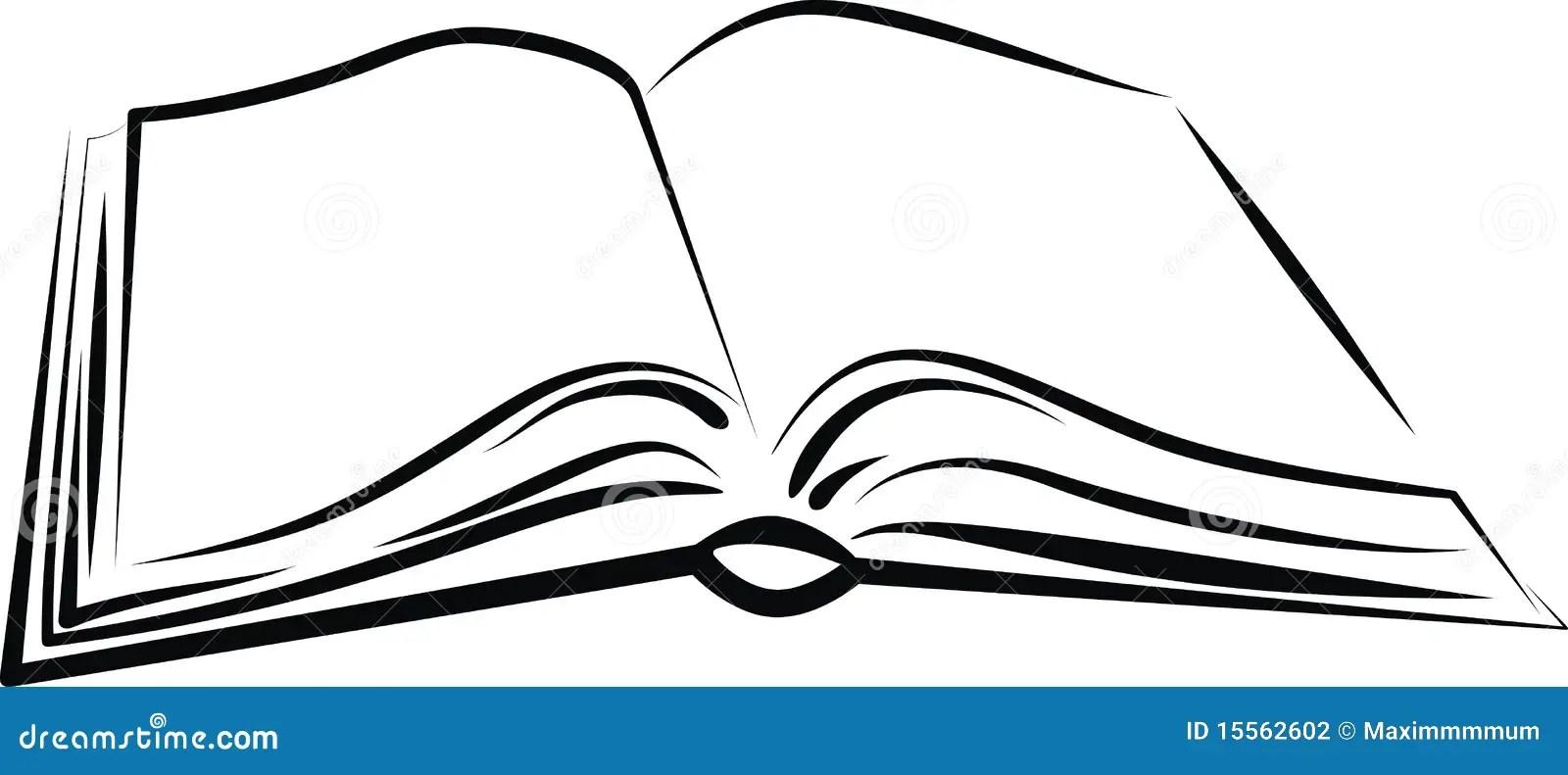 Buch vektor abbildung. Illustration von abbildung, einzeln