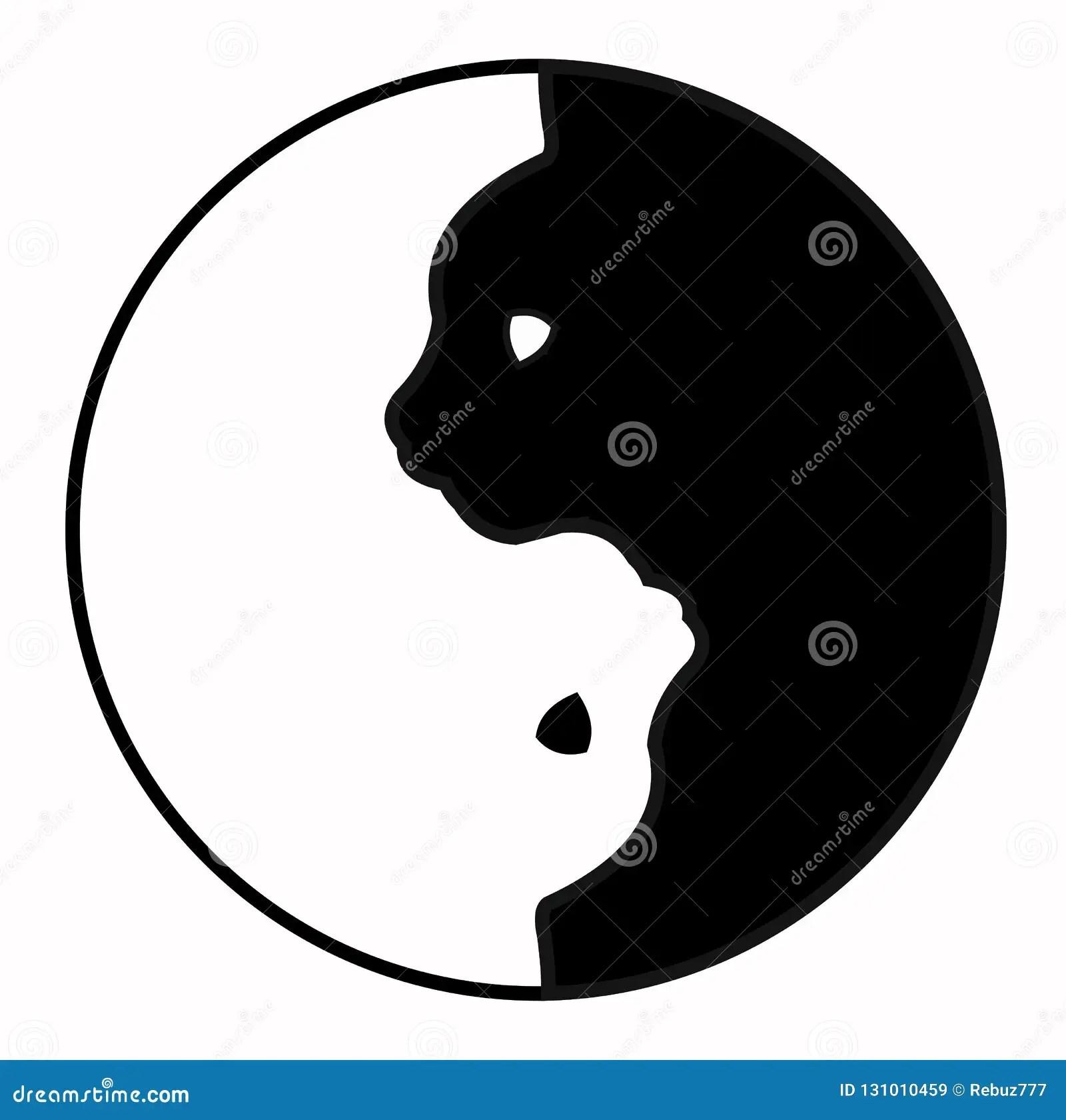 buddhism yin yang cats
