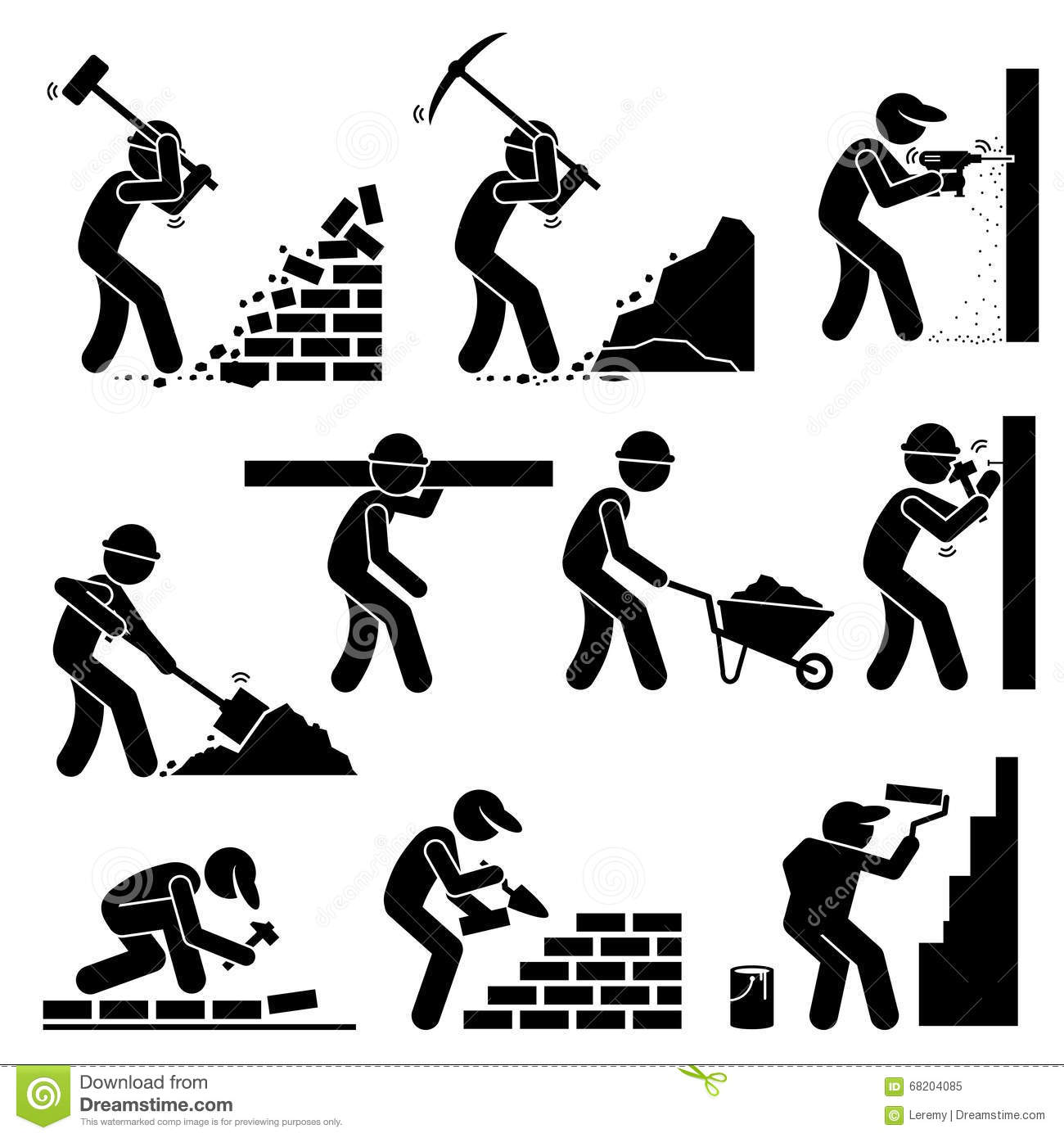 List Of Synonyms And Antonyms Of The Word Stickman Worker