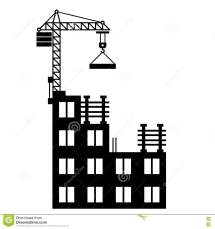 Building Construction Clip Art Black and White