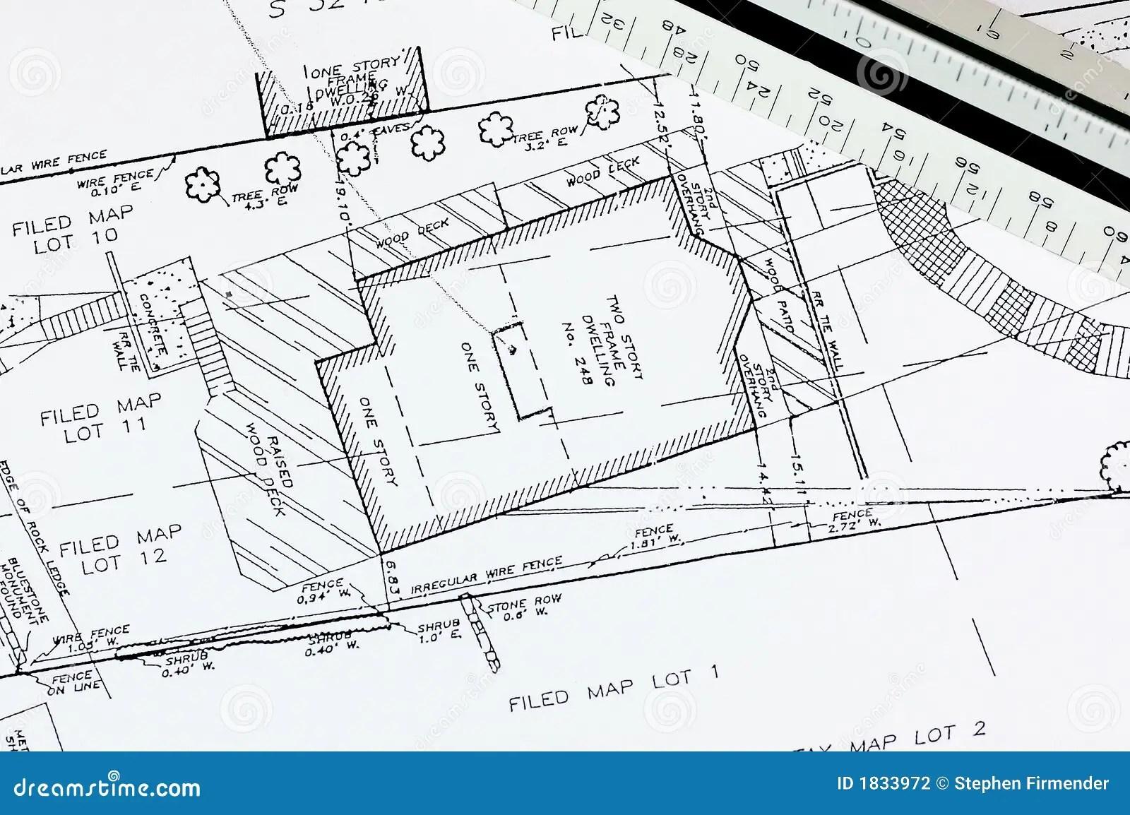Building Plan stock photo. Image of drawing, dwelling