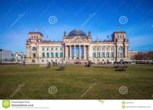 Building Of Reichstag Bundestag Berlin Editorial Stock