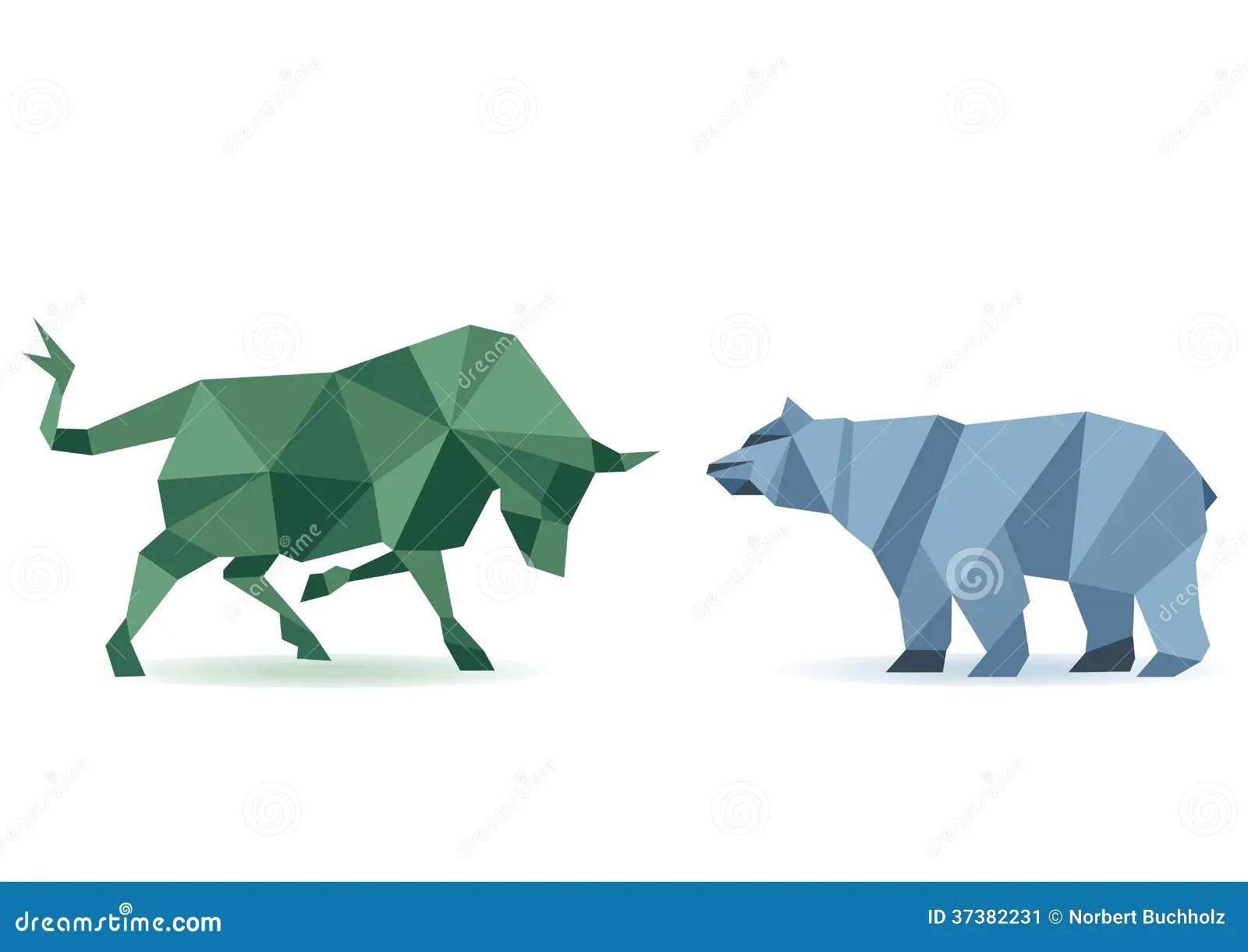 bull and bear stock
