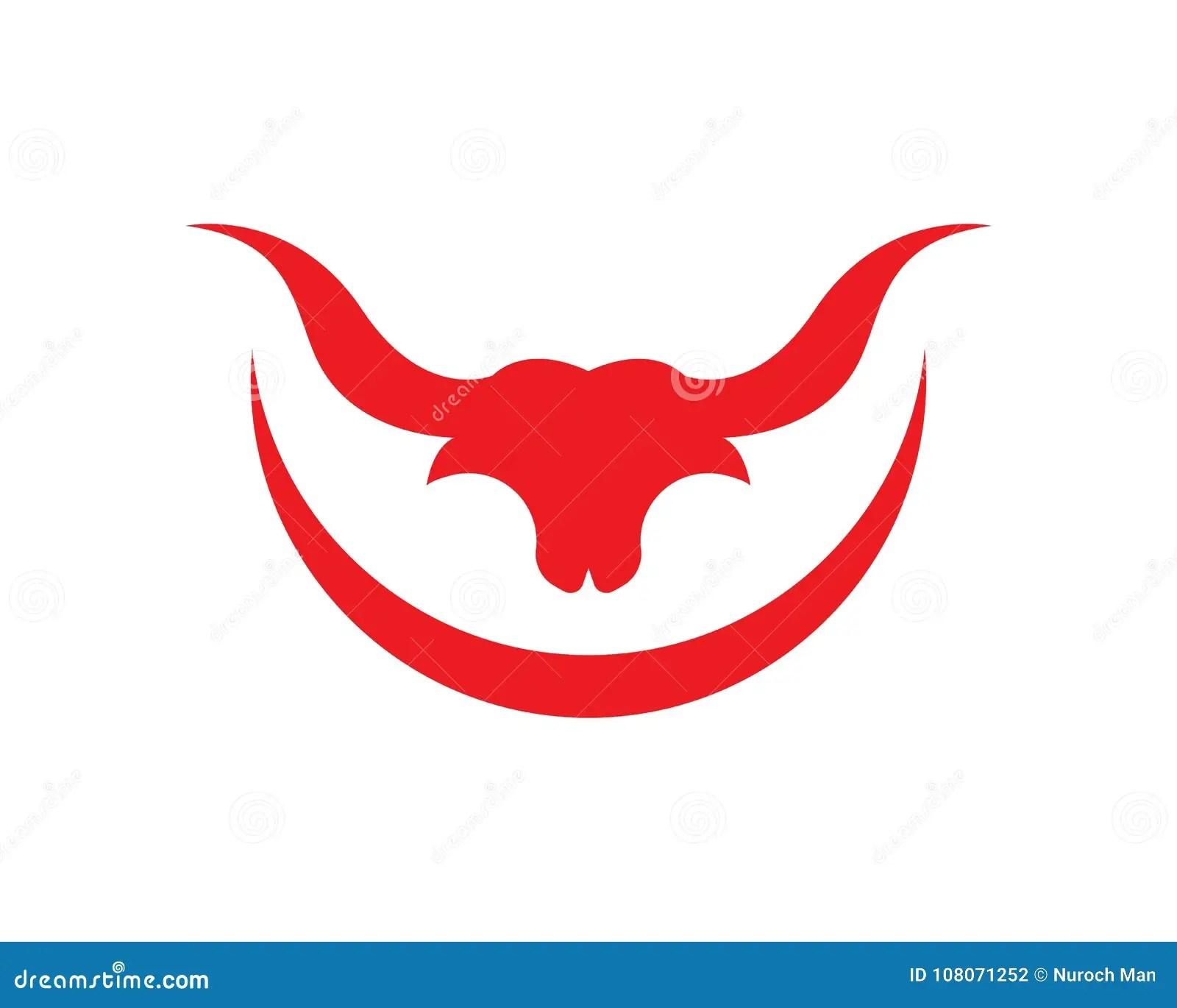 bull horn logos symbols