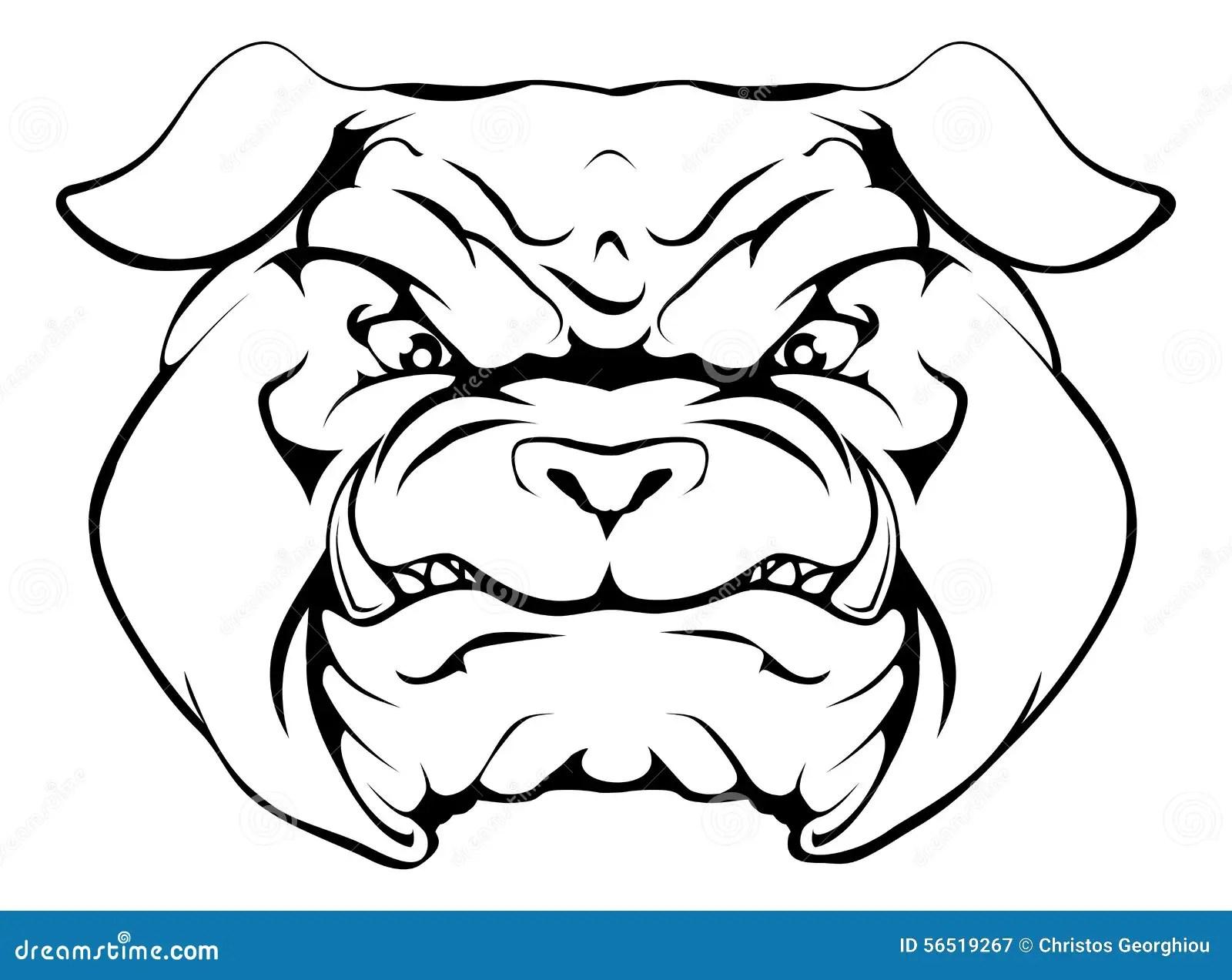 Bulldog Stock Vector