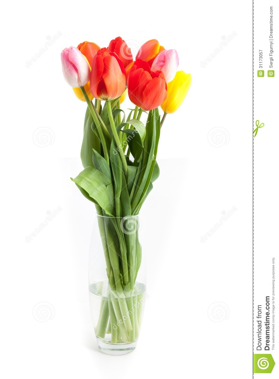 bunch of tulips on