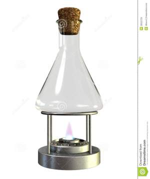 Bunsen Burner 1 Stock Photo | CartoonDealer #1021674