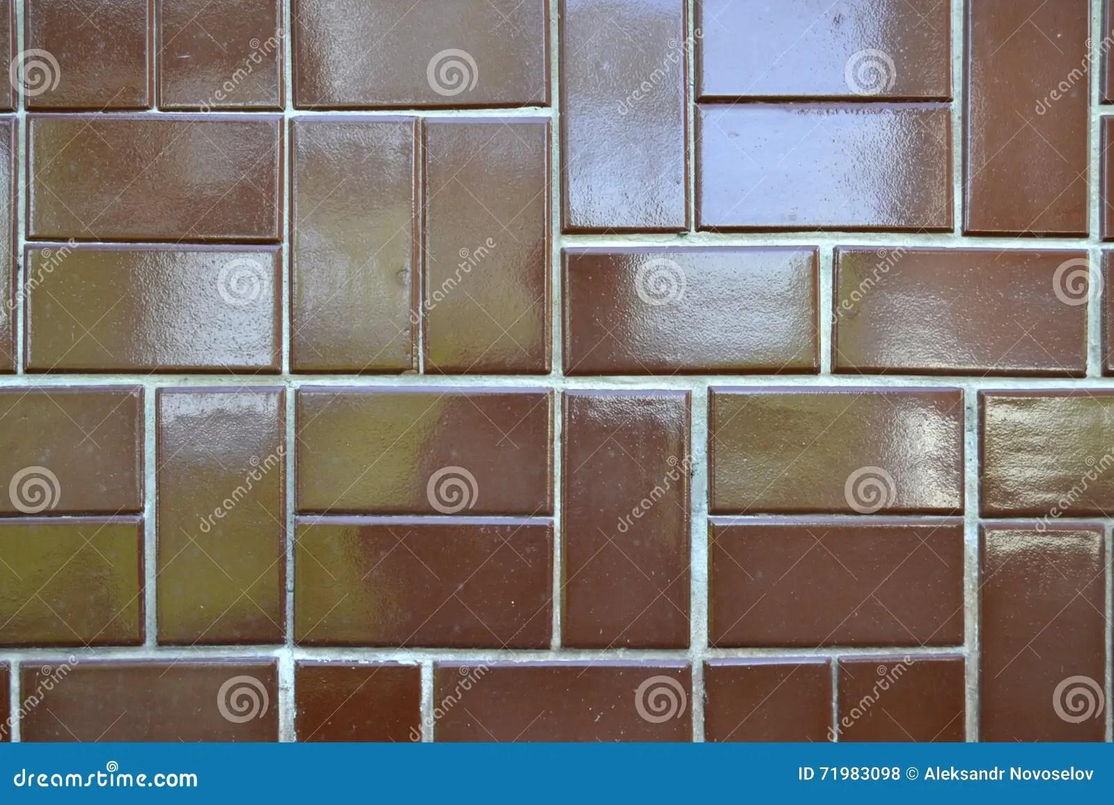 Braune Bodenfliesen Stock Photo