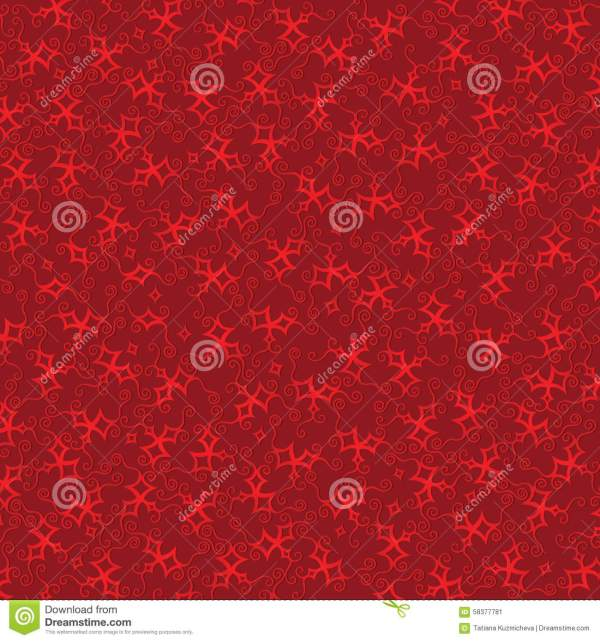 Burgundy Background With Red Stars Stock Vector