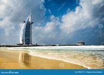 Burj Al Arab Of Famous Landmark United