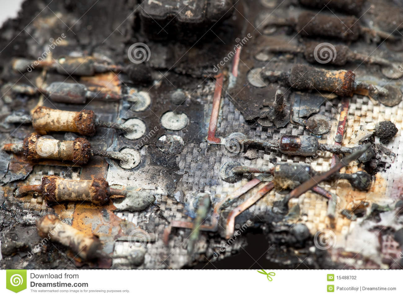 Electronic Circuit Board Stock Images Image 5313864