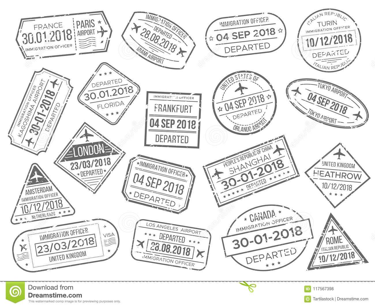 Immigration Stock Illustrations 13 106 Immigration Stock