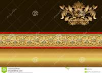 Business Card Template. Golden Background. Royalty Free ...