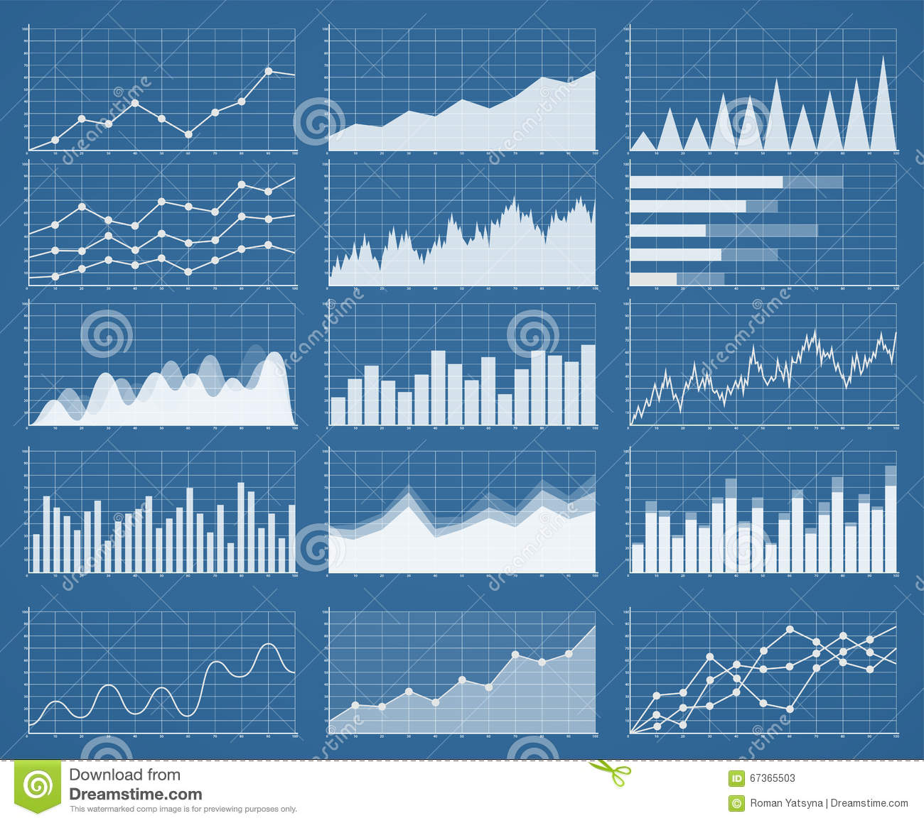 statistical analysis graphs and diagrams john deere 40 wiring diagram business charts set management of
