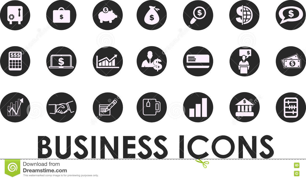 Human Vector Icons 5 Royalty-Free Stock Image