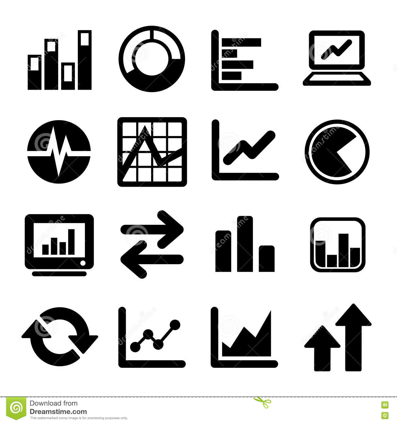 Business Infographic Icons Stock Vector Illustration Of Concept
