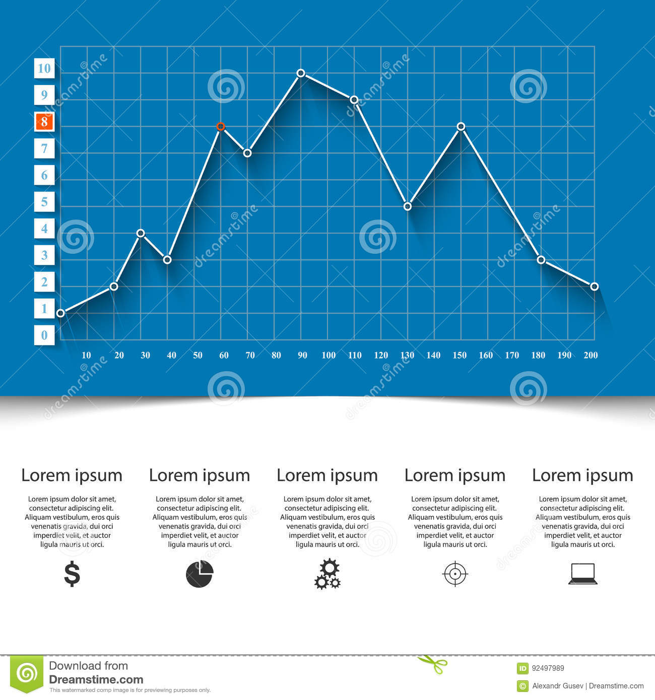 hight resolution of 3d charts and graphs