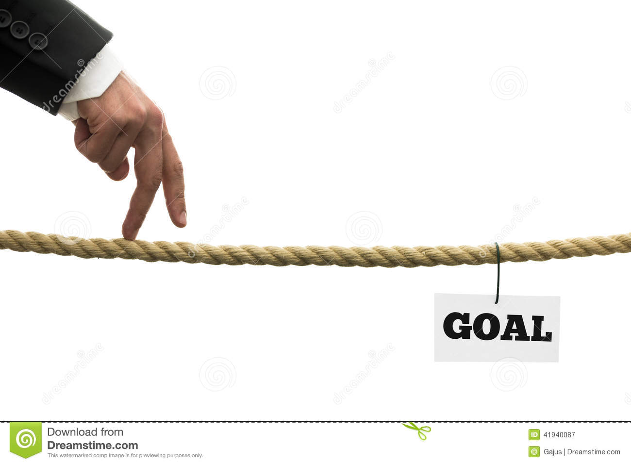 Business Or Life Goals Stock Photo Image 41940087