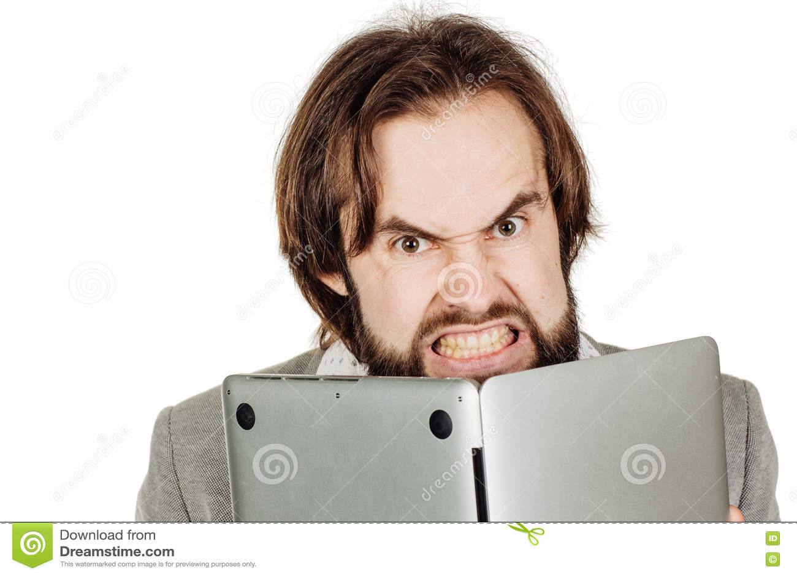 hiding behind a computer screen