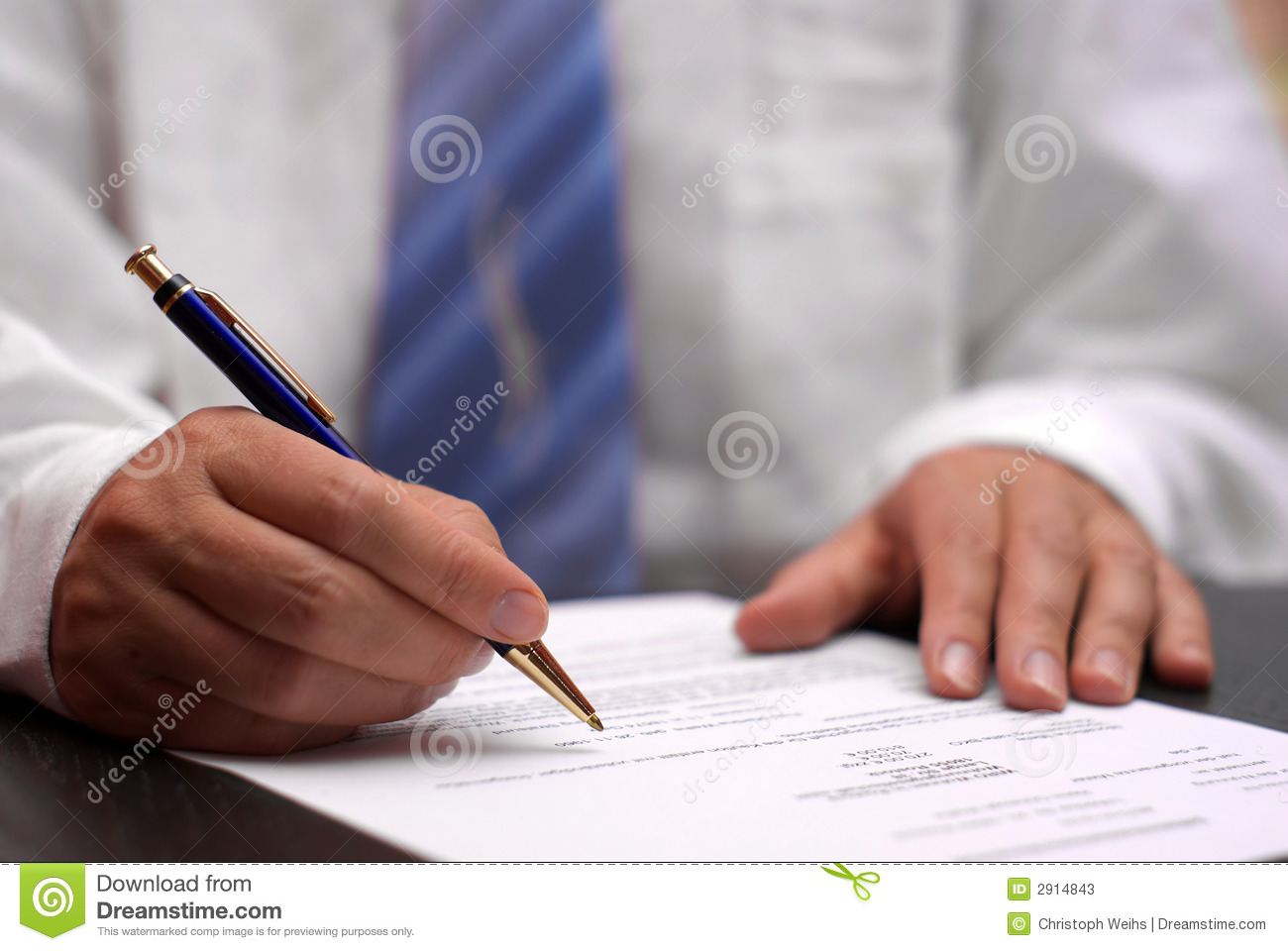 man with agreement royalty free stock photos