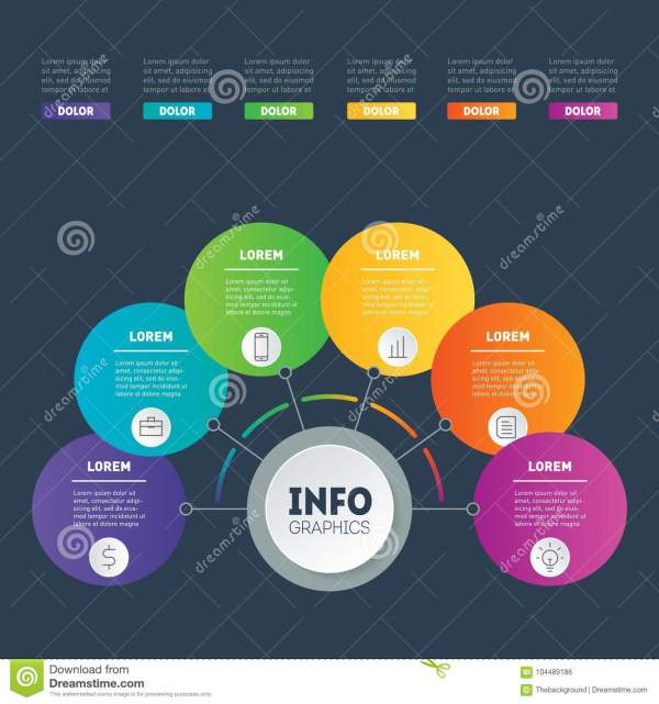 Business Presentation Infographic Examples With 6